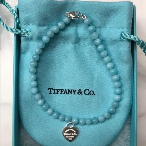 828e6886a00f Tiffany   Co Amazonite Bracelet EUC. M 5b8befefc89e1dd7af0001e2